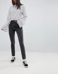 Джинсы в винтажном стиле Noisy May - Черный