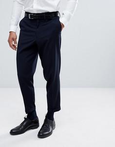 Строгие брюки Only & Sons - Темно-синий
