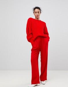Широкие брюки Essentiel Antwerp Prices - Красный
