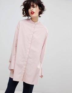 Рубашка oversize от Essentiel Antwerp Purity - Розовый