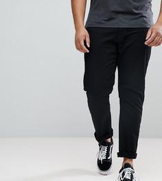 Черные джинсы слим River Island PLUS - Черный