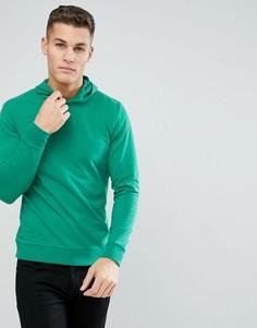 Свитшот с капюшоном Only & Sons - Зеленый