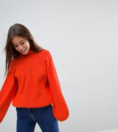 Джемпер в рубчик Vero Moda Petite - Красный