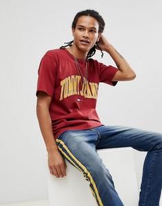 Красная футболка Tommy Jeans Collegiate Capsule - Красный Hilfiger Denim