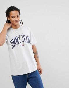 Серая футболка из капсульной коллекции Tommy Jeans Collegiate - Серый Hilfiger Denim