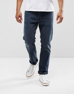 Синие зауженные эластичные джинсы Levis 502 Regular Eyser - Темно-синий Levis®