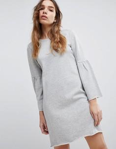 Платье-свитшот JDY - Серый