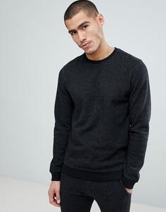 Меланжевый свитшот в крапинку Only & Sons - Серый