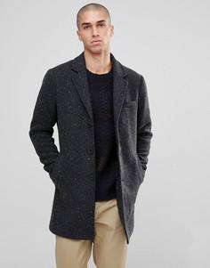 Черно-белое пальто Only & Sons - Серый