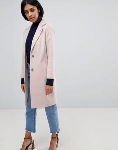Строгое пальто New Look - Бежевый