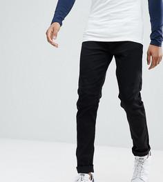 Черные суженные джинсы Burton Menswear TALL - Черный