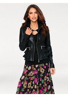 f3fe9d878374 Купить женские куртки кожаные в интернет-магазине Lookbuck | Страница 73
