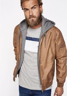 Куртка кожаная Springfield