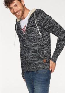 "Кардиган ""TEDDY KNIT ZIP HOOD"" JACK & JONES"