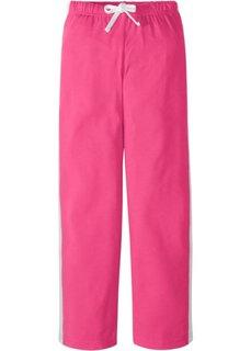 Трикотажные брюки (горячий ярко-розовый) Bonprix