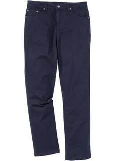 Брюки-стретч Classic Fit Straight, низкий + высокий рост (U + S) (темно-синий) Bonprix