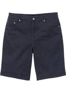 Бермуды-стретч Classic Fit (темно-синий) Bonprix