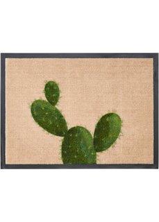 Коврик для ног Кактус (зеленый) Bonprix