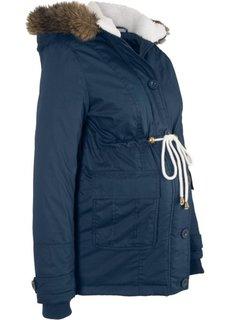 Зимняя куртка для беременных (темно-синий) Bonprix