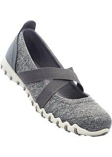 Туфли (серый меланж) Bonprix