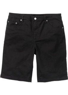 Бермуды-стретч Classic Fit (черный) Bonprix