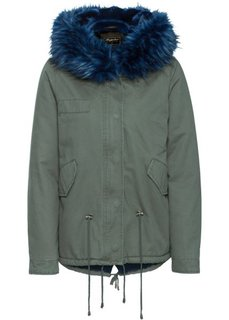 Куртка-парка (оливковый/синий) Bonprix