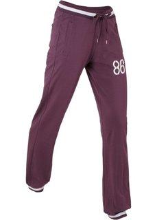 Спортивные брюки стретч (бузиничный) Bonprix