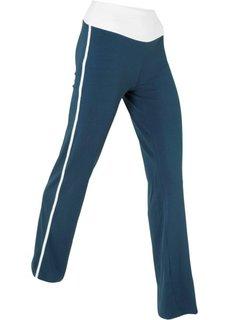 Расклешенные брюки (темно-синий) Bonprix