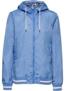 Куртка спортивная (голубой/белый) Bonprix