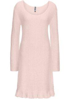 Платье с воланом (розовый) Bonprix