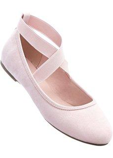 Балетки (дымчато-розовый) Bonprix