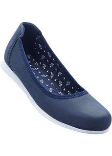 Балетки (синий) Bonprix