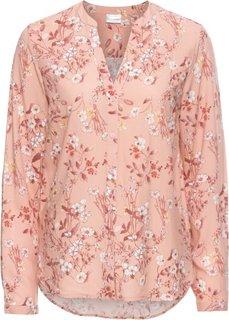 Блузка с принтом (винтажно-розовый в цветочек) Bonprix