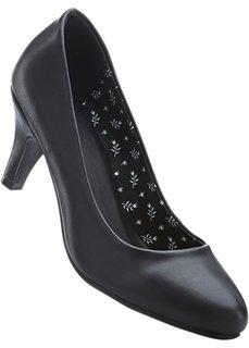 Туфли, широкая стопа (черный) Bonprix