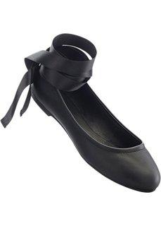 Балетки (черный) Bonprix