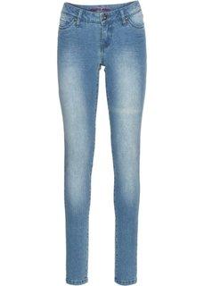 Джинсы Skinny, низкий рост (K) (нежно-голубой) Bonprix