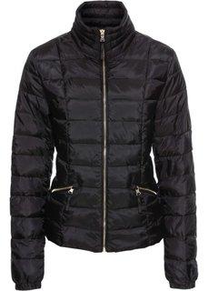 Куртка стеганая (черный) Bonprix