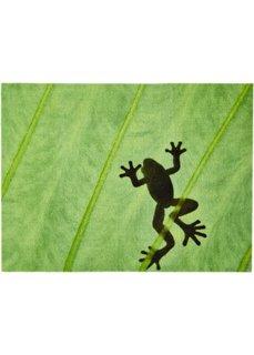 Коврик для ног Лягушка (зеленый) Bonprix