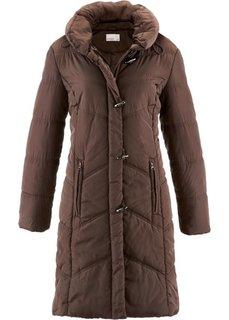 Куртка стеганая (темно-коричневый) Bonprix