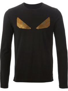 футболка с длинными рукавами  Fendi