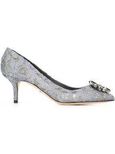 кружевные туфли-лодочки Dolce & Gabbana