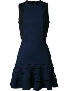 короткое платье с оборками  Dion Lee