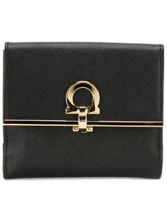 бумажник с отделкой Gancio Salvatore Ferragamo