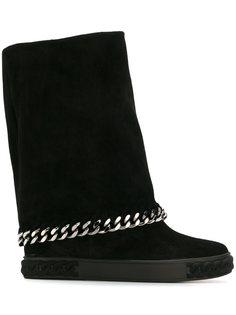 ботинки Sneakers с цепочной отделкой Casadei