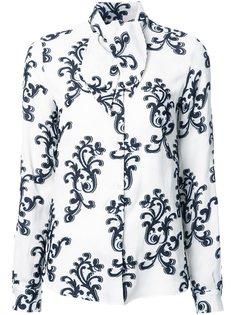 рубашка с завязками на шее Rossella Jardini