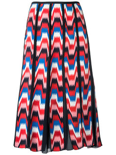 юбка с абстрактным принтом Reinaldo Lourenço