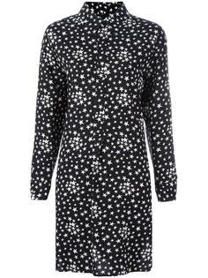 платье-рубашка  Saint Laurent