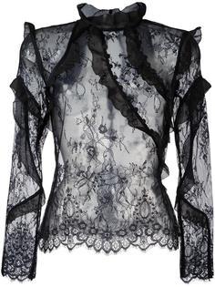 кружевная блузка Self-Portrait