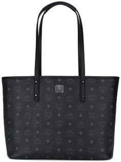 сумка-тоут с принтом логотипа MCM