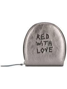кошелек для монет с вышивкой Ann Demeulemeester